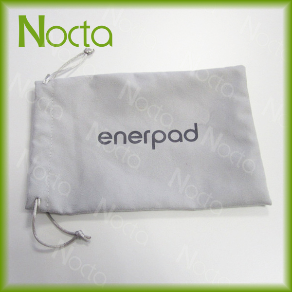 Personalized microfiber cloth pouch for tablet PC