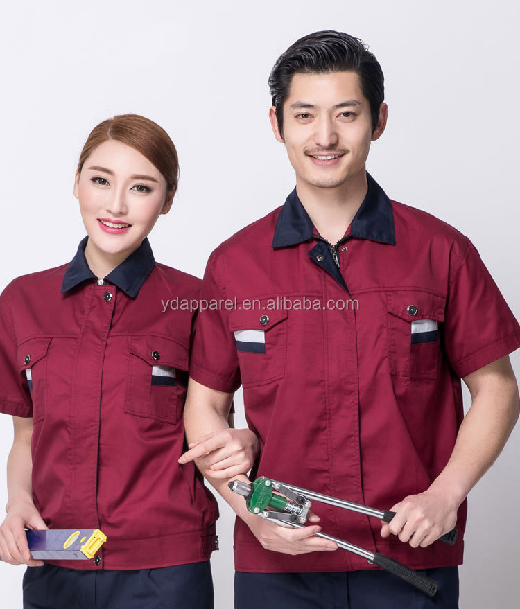 industry uniform workwear sets factory clothes S/M/L/XL/XXL/XXXL