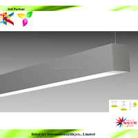 15w 30w led linear hanging celing light linear lighting led trunking system 3 years warranty