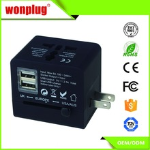 universal power adapter travel converter au eu uk