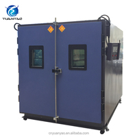 Programmable environmental stability walk in temperature test chamber