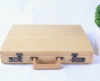 Sustainable and Professional Bamboo Briefcase Tools or Laptop