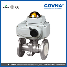 COVNA electric automotive heater control valve flange valve made in China