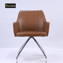 new products top grain barcelona leather dining chair