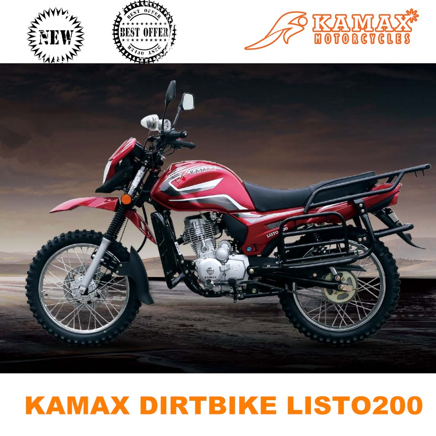 2016 LISTO 200cc Kamax New Style Cheap Dirt Bike for Sale