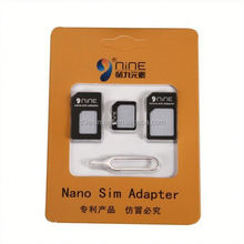 Cheapest Price 3 In 1 Card Kits Micro Dual SIM Card Adapter For Ipad