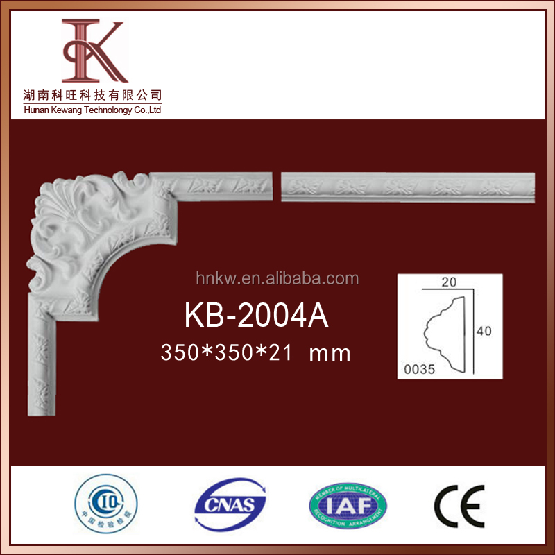 KB-2004A Decorative Corner Mouldings For Living Room