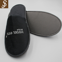 S&J 2018 Hot sell 100% cotton Super Soft hotel wholesale terry slippers for winter