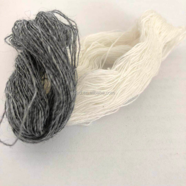 merino and Cashmere For Knitting 2/26NM Yarn Count Woolen