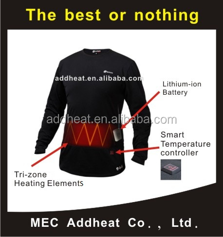 High Quality Heating Element for Battery Heated Base Layer
