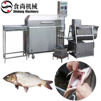 Multifunctional fish cleaning machine fish scale remove machine fish killing machine fish killer production line