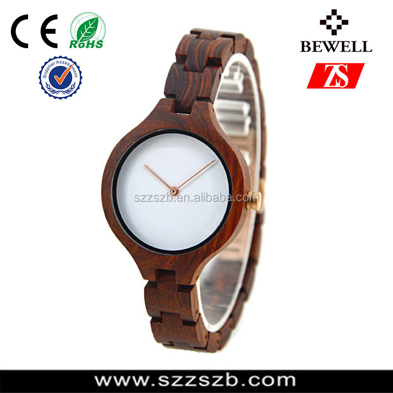 2017 Hot Selling handmade Natural Bamboo Watch Fashion Original Wood Watch