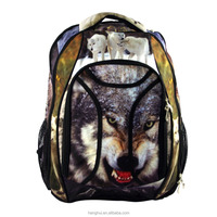 Top quality dog printing school backpack travel backpack outlet