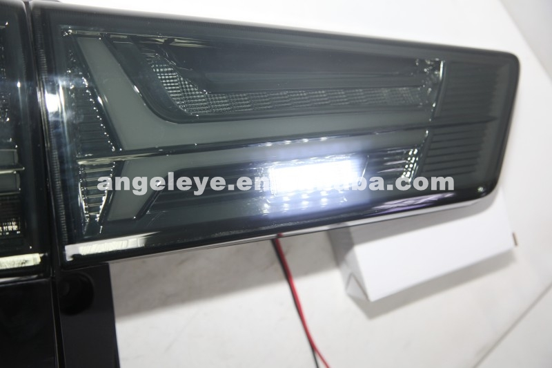 For TOYOTA Innova LED Back Light Tail Lamp 2015 To 2016 Year Smoke Black Color YZ
