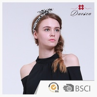 Wholesale Eco-Friendly Flower Hairwrap/headband Infant Hair Accessories