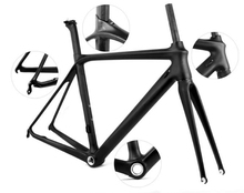 2016 YISHUN carbon frame 700C cycling frame chinese LCR002-V strong road frame kit for sale