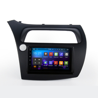 Multi touch screen special and humanized design car radio dvd with gps mirror for honda