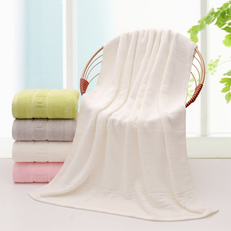 100% Cotton Bath Towels Easy Care, Cotton for Maximum Softness and Absorbency, Colorful Striped towel fabric 100% cotton