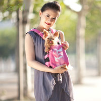 Fashion design dog bag carrier bike pet carrier