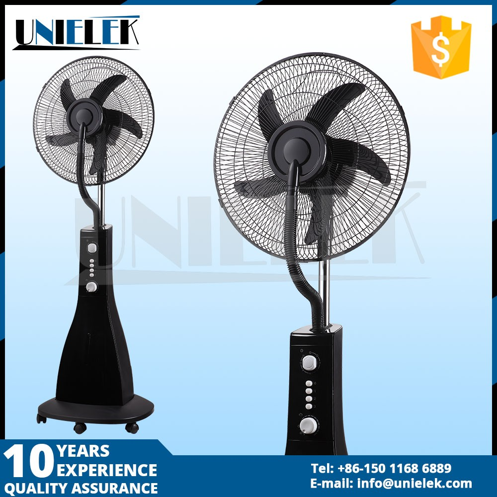 Guangdong LCD <strong>16</strong> inch new design hot selling portable water cooling fan with remote control
