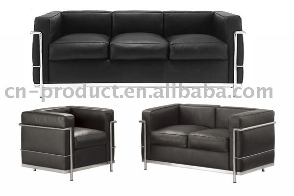 Le corbusier LC2 sofa set