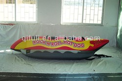 Inflatable Banana Boat For Sale, PVC Inflatable Banana Boat