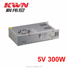 KWN Switch Mode 5v 60a Power Supply for Strip Light and Led Light Box