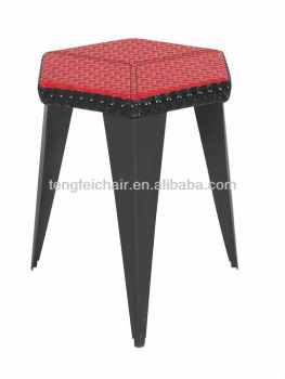 low square PU bar chair /easy to clean and carry/good quality
