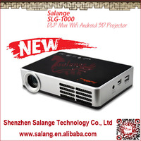 2014 Best Selling Portable Mini Wifi Android 3D Ultra Short Throw Full Hd Led Projector 1080p By Salange