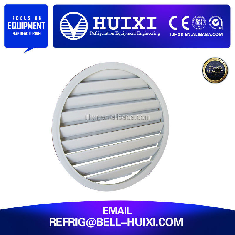 Anodized Aluminum Air Vent Grille with Steel Net in competitive price