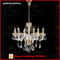 Lumax asfour crystal chandelier price for home decoration Karme lighting