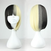 Promotion 45cm Medium Straight Color Mixed High Quality New Design Cosplay Lolita Wig