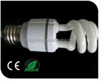 china energy saving lamp manufacturer half spiral cfl bulb
