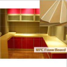 New WPC Foam Board tech product, Waterproof Furniture board , decoration board