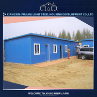 Easy installation steel self contained container house