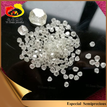 Synthetic big size white rough HPHT diamond