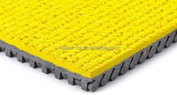 Prefabricated run way rubber athletic track