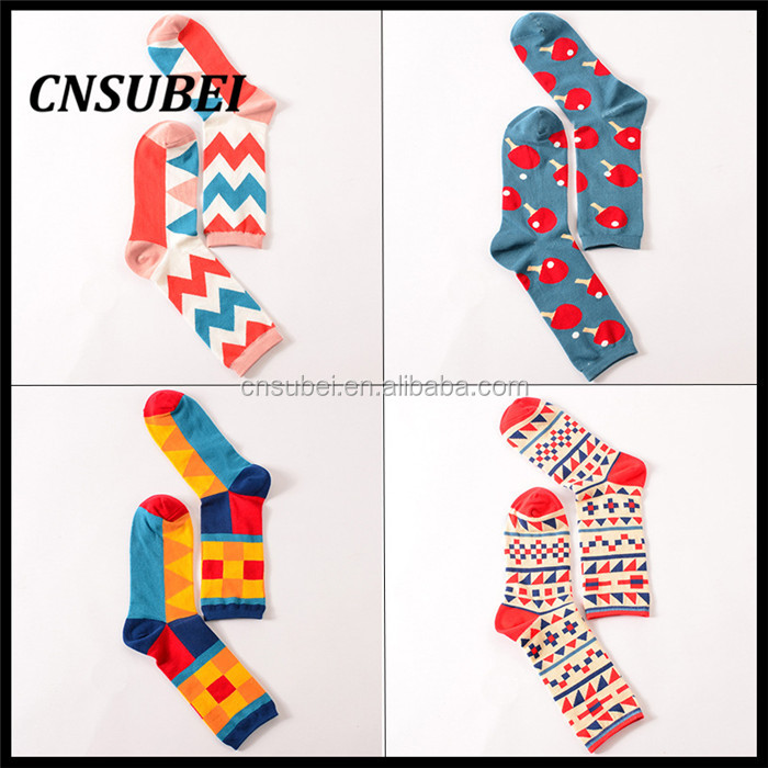Creative design character korean design lover calf fashion make <strong>u</strong> happy socks