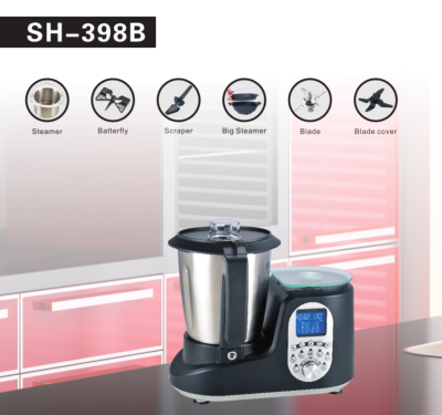 Multifunction Thermo cooker 1000W housing soup maker, soup thermo mixer