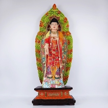 Hot sale Chinese Large Resin Standing Buddha Statue
