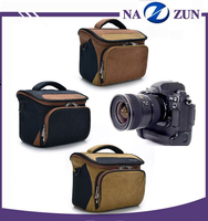 High quality Protective Canvas Material Gear Case Camera bag for Wholesale