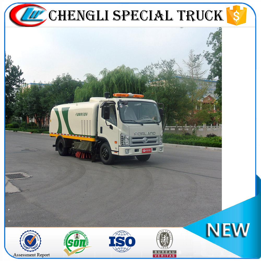 Best Foton high pressure water washing truck mutifuction sweeper