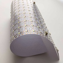 Backlight solution cuttable led sheet mat for curved face lighting