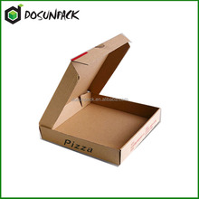 Factory supply Custom various sizes printed pizza boxes for pizza packing