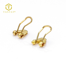 Rose Gold Clip Earrings for Earring Findings Jewelry Wholesale