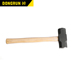 High quality stainless steel crossfit Sledge hammer with wooden handle