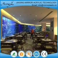 high qualitylarge acrylic glass aquariums custom saltwater fish tanks