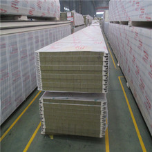 fire retardant foam insulation board/rock wool sandwich panel/m2 price sandwich panel