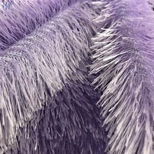 High quality 100% Polyester Wholesale long pile plush fabric solid color pv fleece