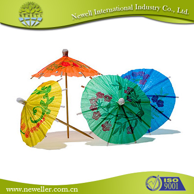 2014Hot sell stylish fruit umbrella pickers With Opp Sealing Packing